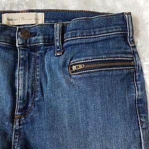 GAP True Skinny high rise ankle jeans Sz. 31